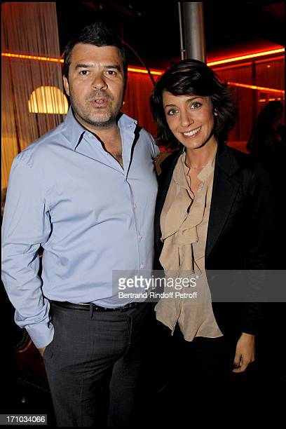 Virginie Guilhaume and her husband Stephane Gateau at Launch Of Web Site Of Drunk Driving Awareness Association Ferdinand Chesnais