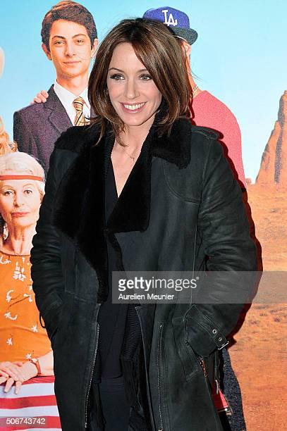 Virginie Guilhaume attends 'Les Tuche' Paris premiere at Gaumont Opera on January 25 2016 in Paris France