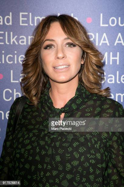Virginie Guilhaume attends the 'Heroes for Imagine' host by Kamel Mennour benefit auction at L'Institut Imagine on February 12 2018 in Paris France