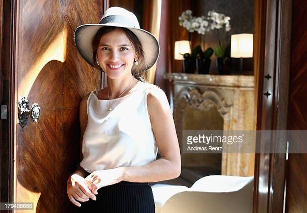 Virginie Ledoyen attends Chopard Photocall during the 70th Venice International Film Festival at Palazzo del Casino on September 3 2013 in Venice...