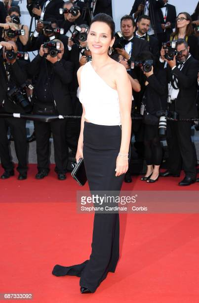 Virginie Ledoyen attends the 70th Anniversary of the 70th annual Cannes Film Festival at Palais des Festivals on May 23 2017 in Cannes France