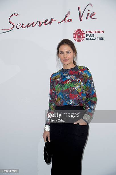 Virginie Ledoyen attends the diner 'sauver la vie' Eric Pfrunder Hosts 'Sauver La Vie' Diner for Paris Descartes Fondation at Pavillon Ledoyen on...