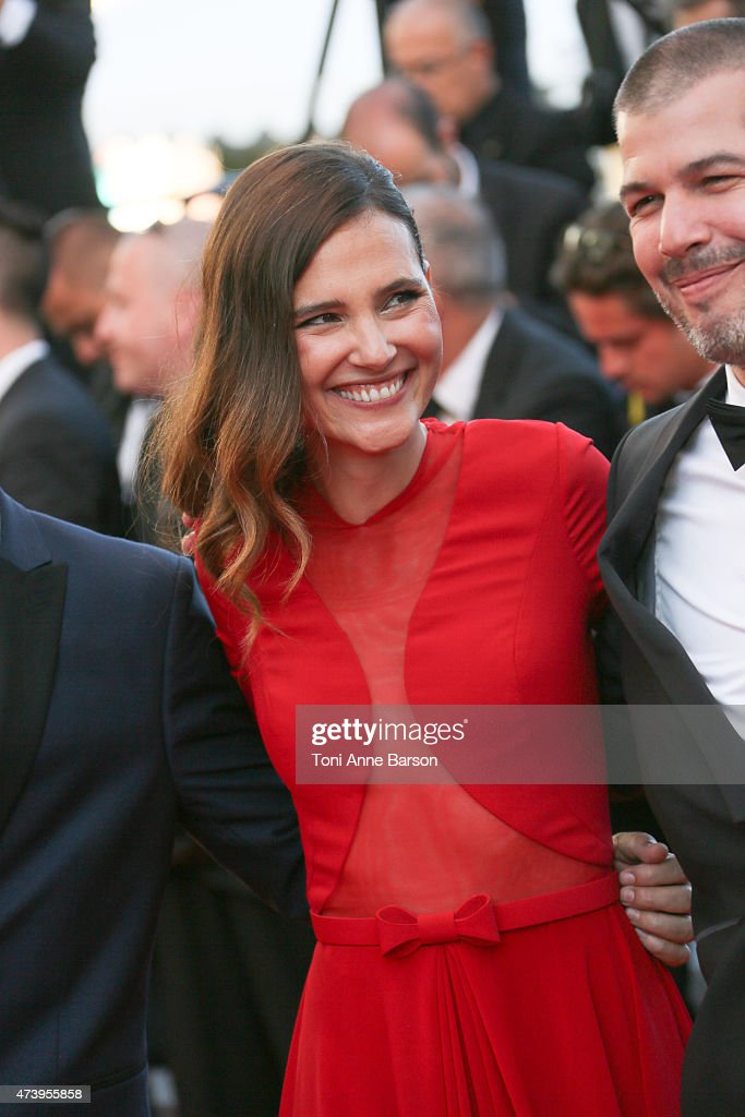 Virginie Ledoyen attends the 'Inside Out' premiere during the 68th annual Cannes Film Festival on May 18, 2015 in Cannes, France.