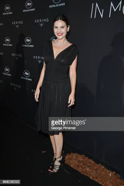 Virginie Ledoyen attends the Kering Women In Motion dinner during the 71st annual Cannes Film Festival at Place de la Castre on May 13, 2018 in...