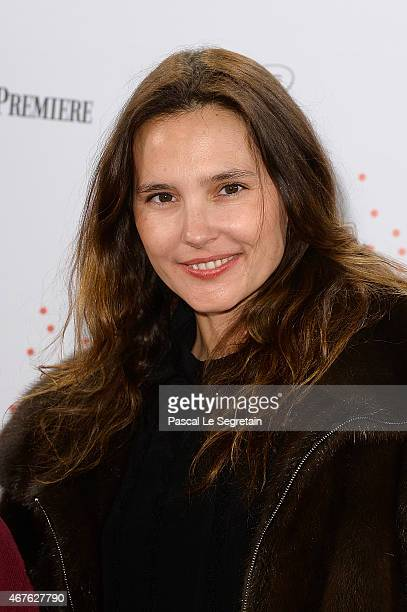 Virginie Ledoyen attends The Lumiere Le Cinema Invente exhibition preview on March 26 2015 in Paris France