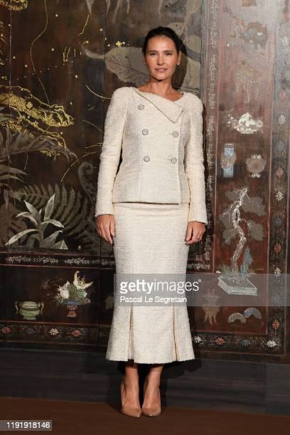 Virginie Ledoyen attends the photocall of the Chanel Metiers d'art 20192020 show at Le Grand Palais on December 04 2019 in Paris France