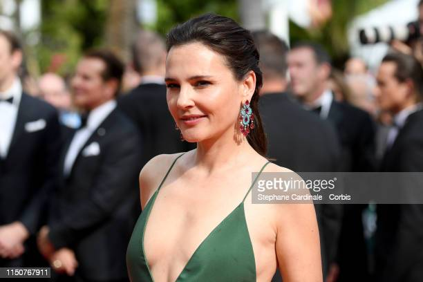 Virginie Ledoyen attends the screening of Once Upon A Time In Hollywood during the 72nd annual Cannes Film Festival on May 21 2019 in Cannes France