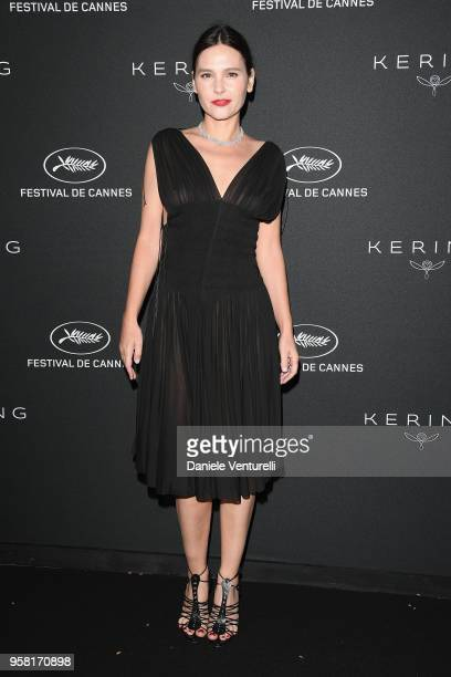 Virginie Ledoyen attends the Women in Motion Awards Dinner presented by Kering and the 71th Cannes Film Festival at Place de la Castre on May 13 2018...