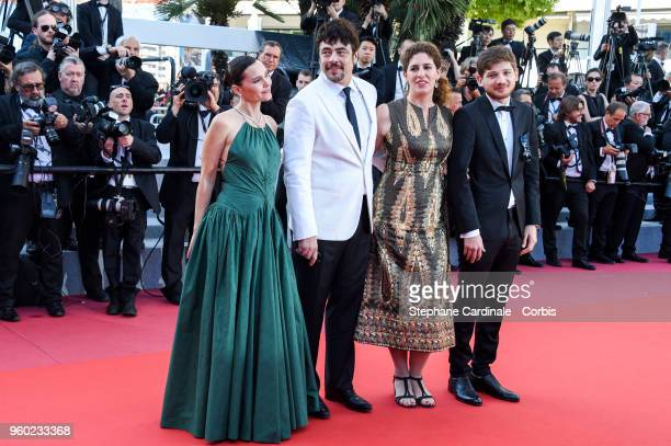 Virginie Ledoyen Benicio Del Toro Annemarie Jacir and Kantemir Balagov attend the Closing Ceremony and the screening of 'The Man Who Killed Don...