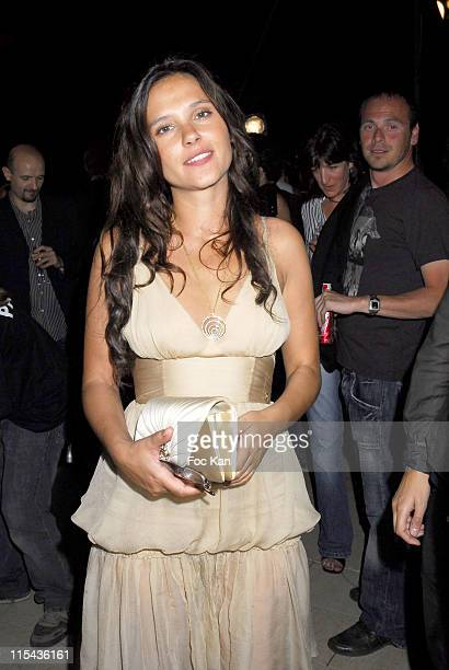 Virginie Ledoyen during 2006 Cannes Film Festival Frederic Taddei's 'La Party' Hosted by Canal Plus at VIP Room Palm Beach in Cannes France