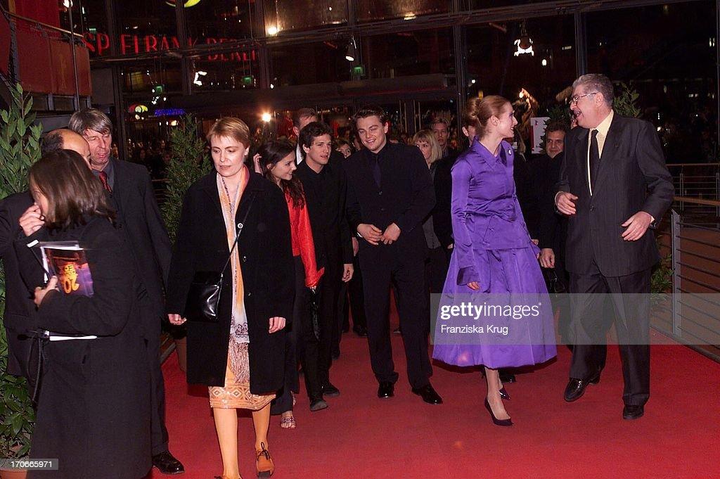 Virginie Ledoyen + Guillaume Canet + Leonardo Dicaprio