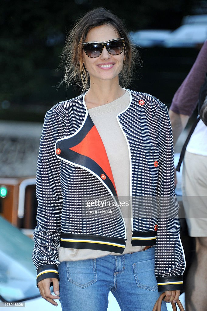 Virginie Ledoyen is seen during the 70th Venice International Film Festival on August 27, 2013 in Venice, Italy.
