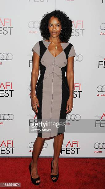 """Virginie Silla attends the AFI Fest 2011 Special Screening Of """"The Lady"""" held at the Grauman's Chinese Theatre on November 4, 2011 in Hollywood,..."""