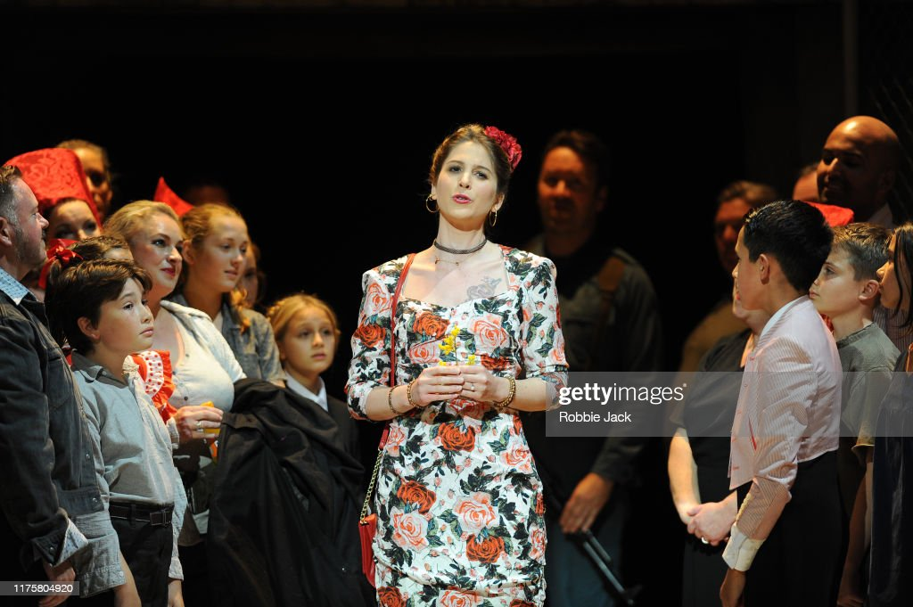 Welsh National Opera's Production Of Carmen At The Millennium Centre : News Photo