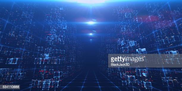virtual data center - storage compartment stock pictures, royalty-free photos & images