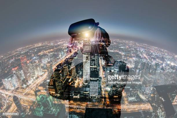 Virtual Reality Double Exposure