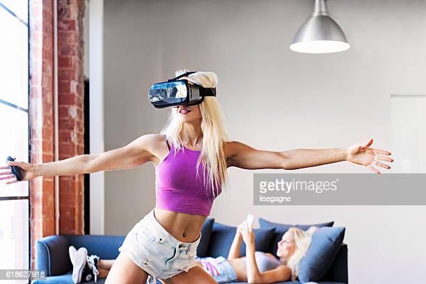 Virtual Reality Exercising