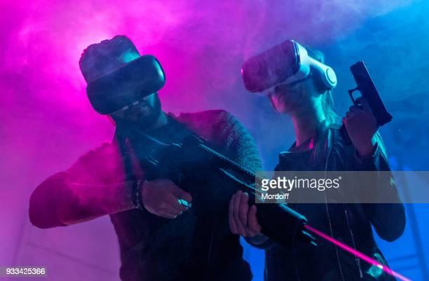 Virtual Reality Gamers