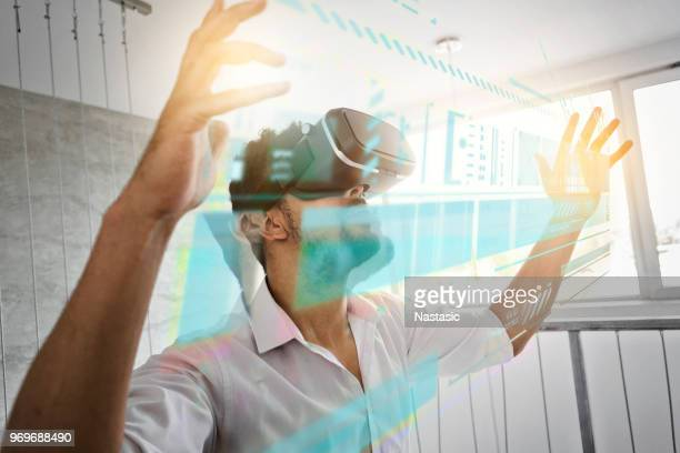 Virtual reality in a workspace
