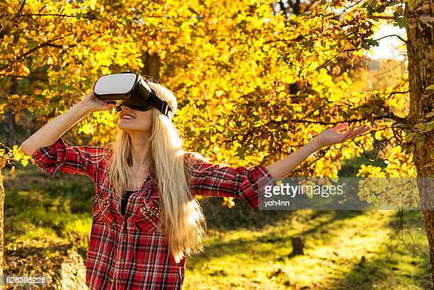 Virtual reality in forest !