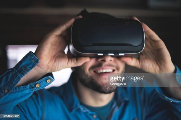 Virtual reality is fun