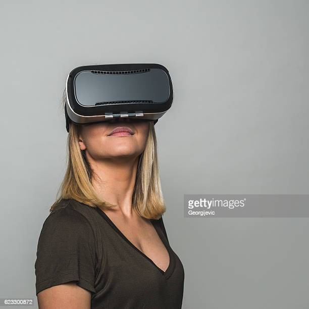 Virtual reality is so fun
