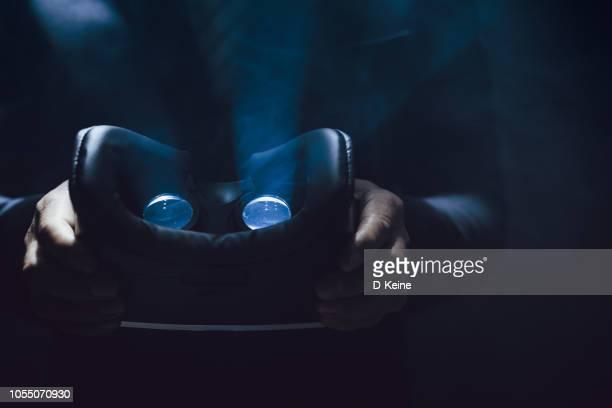 realtà virtuale - realtà virtuale foto e immagini stock