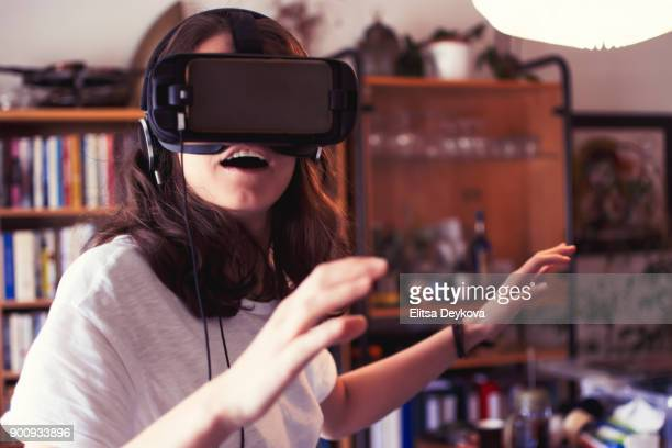 virtual reality - redoubtable film stock photos and pictures