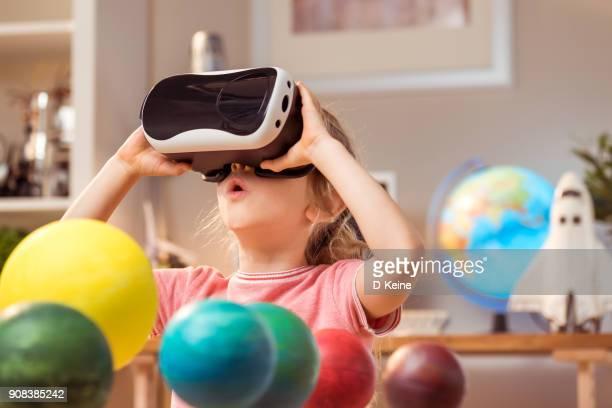 virtual reality - digital viewfinder stockfoto's en -beelden