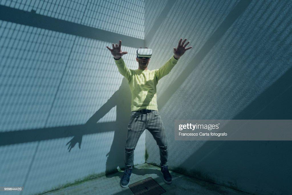 Virtual reality : Stock-Foto
