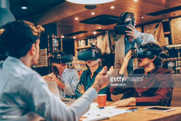 Virtual-Reality-Präsentation