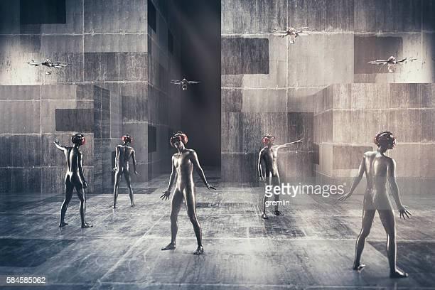 Virtual reality society