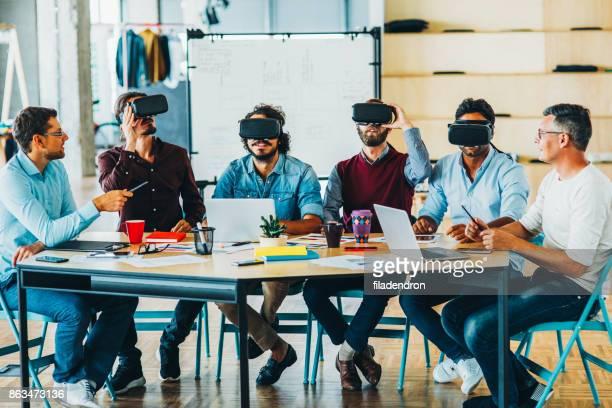 teste de realidade virtual - experimento - fotografias e filmes do acervo