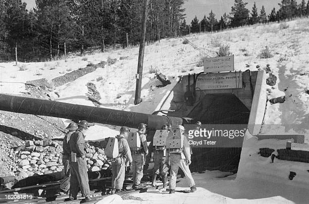 NOV 2 1949 A virtual tomb for Leadville's mining hopes since the end of World war II the huge Leadville drainage tunnel soon will echo again to the...
