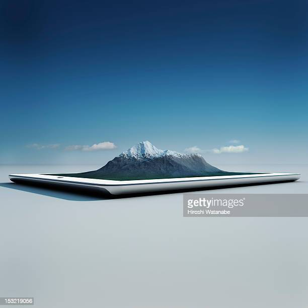 Virtual travel on a tablet PC