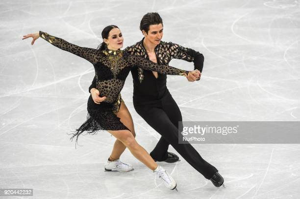 Virtue Tessa and Moir Scott of Canada competing in free dance at Gangneung Ice Arena Gangneung South Korea on February 19 2018