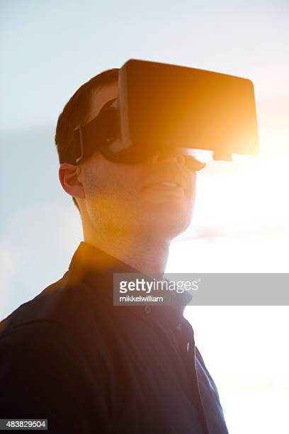 Virutal realidad Gafas también sabemos como VR
