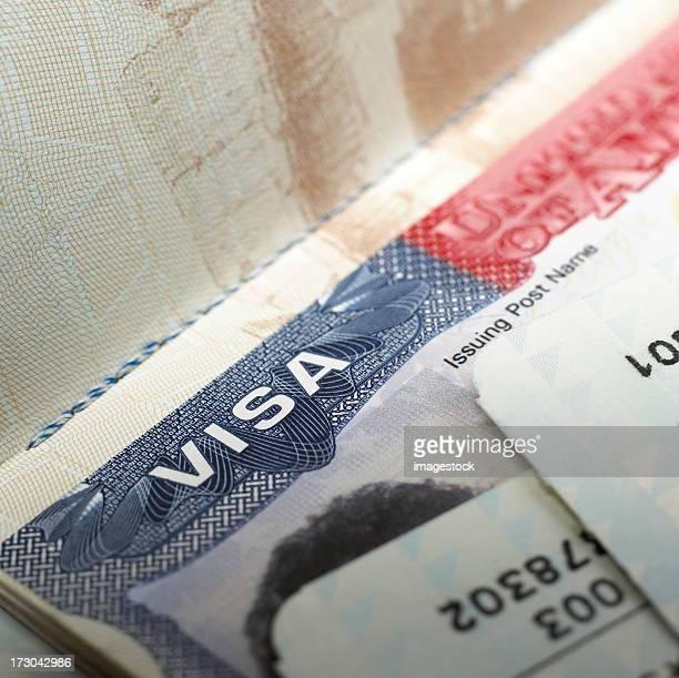 Visa document