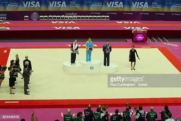 Visa Federation of International Gymnastics Igor Radivilov of the Ukraine wins the Gold medal Steven Legendre of the United States of America wins...
