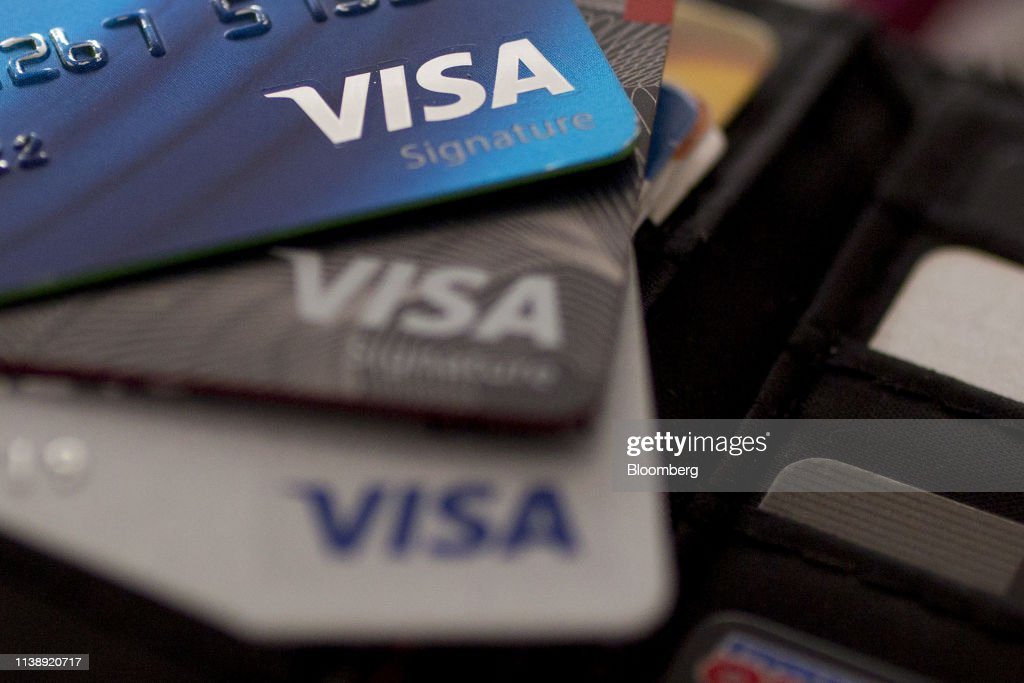 DC: Visa Inc. Credit Cards Ahead Of Earnings Figures
