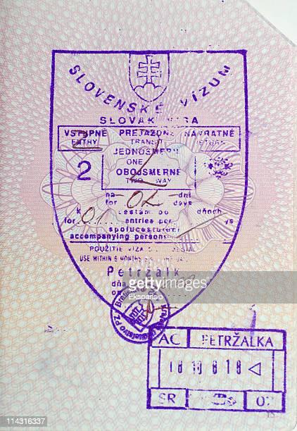 Visa - Slovakia