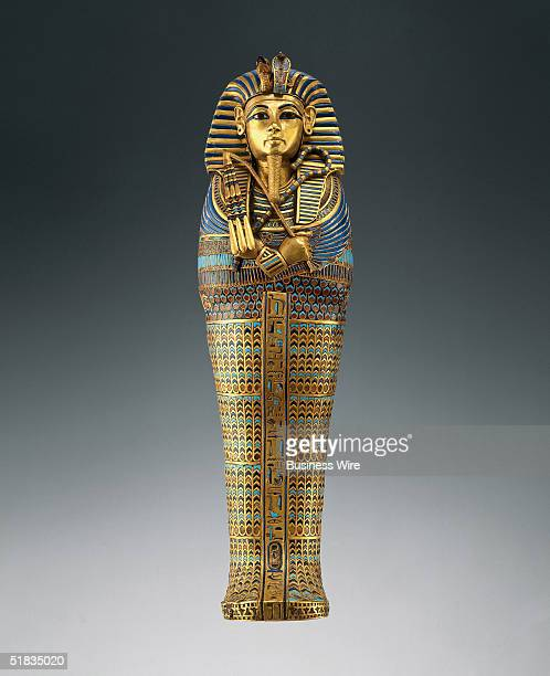 A viscera coffin found in Tutankhamun's tomb will be included in the 'Tutankhamun and the Golden Age of the Pharaohs' exhibition Tutankhamun...