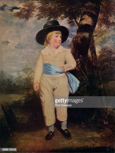 Viscount Althorp 1786 From The Connoisseur Volume XXV [The Connoisseur Ltd London 1909] Artist Sir Joshua Reynolds