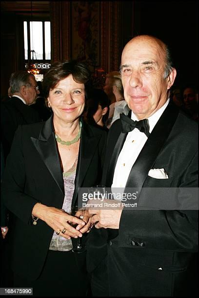 Viscount and Viscountess De La Grandiere at The Arop Gala At Opera Garnier