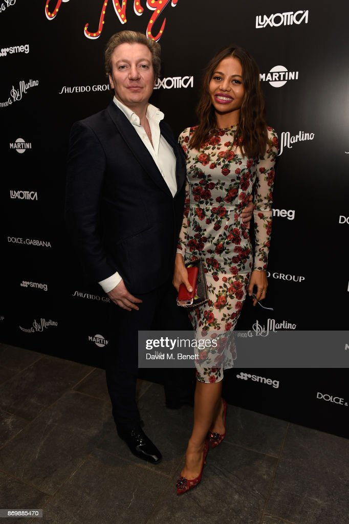 Dolce & Gabbana Italian Christmas at Harrods - After Party : News Photo