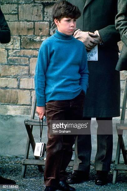 Viscount David Linley The Son Of Princess Margaret At Badminton