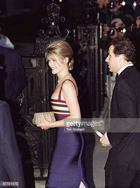 Viscount Linley And His Wife Serena Attending The 100th Birthday Celebration Of The Tate Gallery In London