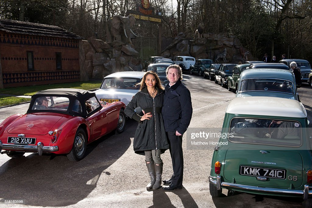 Viscount & Viscountess Weymouth Ceawlin Thynn and Emma McQuiston welcome visitors at Longleat on March 30, 2016 in Wiltshire, England. This year Longleat marks the 50th anniversary of its ground-breaking safari park. In 1966, the park, set in the grounds of the Wiltshire stately home, became the first of its kind to open outside of Africa.