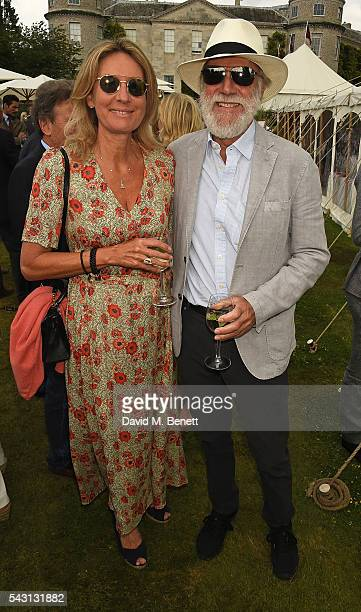 Viscountess and Viscount Cowdray attend The Cartier Style et Luxe at the Goodwood Festival of Speed at Goodwood on June 26 2016 in Chichester England