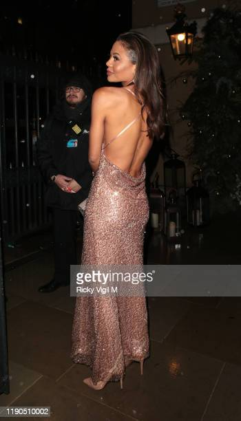 Viscountess Emma Weymouth seen attending The Royal Osteoporosis Gala Dinner at Banqueting House on November 27, 2019 in London, England.